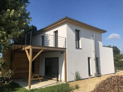 Maison contemporaine Balschwiller Alsace