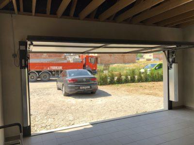 Porte de garage Moos avec portillon