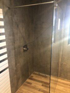 Salle de bain esprit nature maison contemporaine
