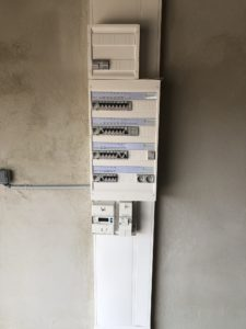 Tableau électrique finitions maison BEGI