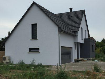 """""""Ungersheim maison garage accolé"""