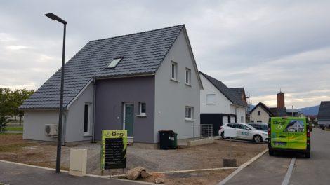 Construction deux pans Haut-Rhin