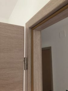 Finitions menuiseries intérieures maison ossature bois Neuwiller