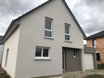 Maison garage accolé Ungersheim
