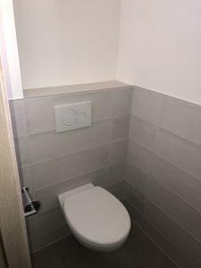 Toilettes suspendues maison plain-pied Neuwiller