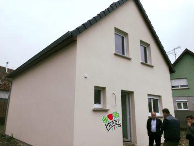 Maison deux pans Alsace