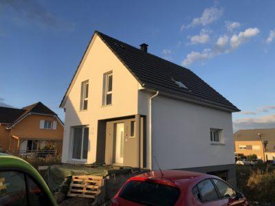 Maison deux pans Rixheim
