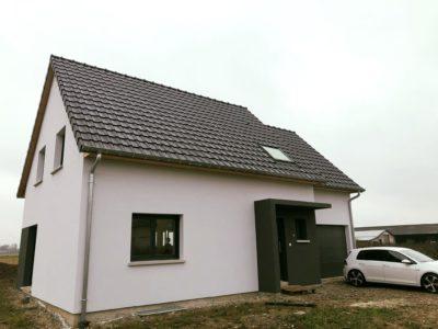 Maison garage accolé Haut-Rhin