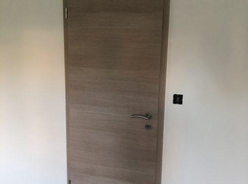 Porte intérieure maison ossature bois
