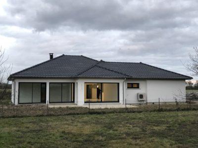 Belle construction dans le haut-Rhin d'une maison plain-pied