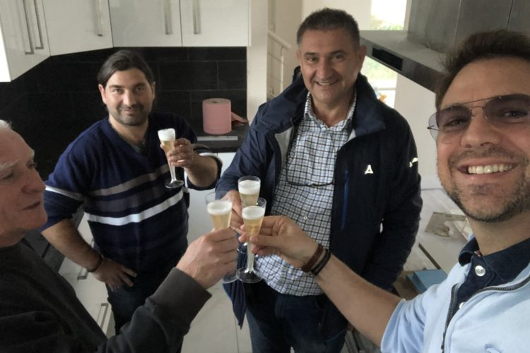 Réception d'une belle maison deux pans Alsace