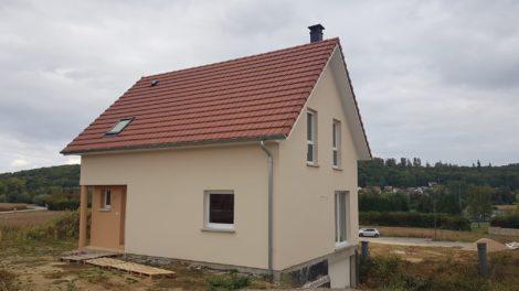 Construction deux pans Hirtzbach