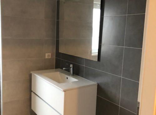 Vasque suspendu maison 2 pans Staffelfelden