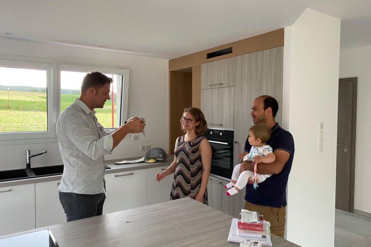 Réception maison deux pans Hagenthal le Bas